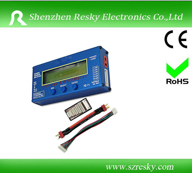 RC watt meter and balancer