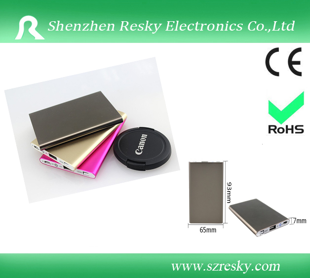 Ultra-thin lithium polymer back up battery pack
