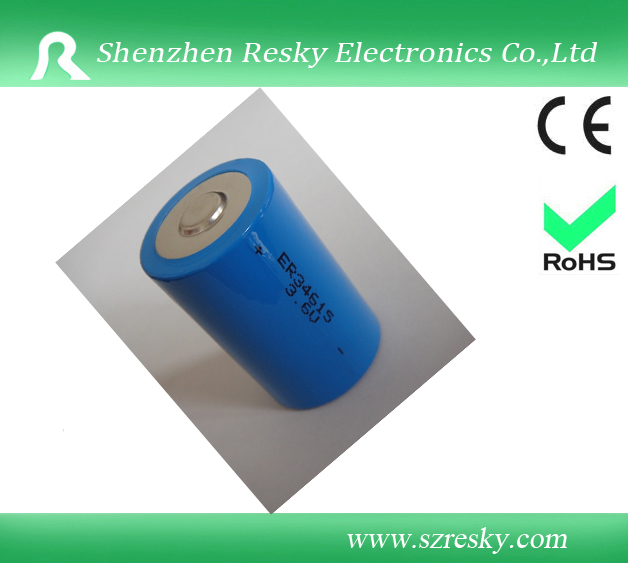 ER34615 3.6V 19000mAh D battery cell