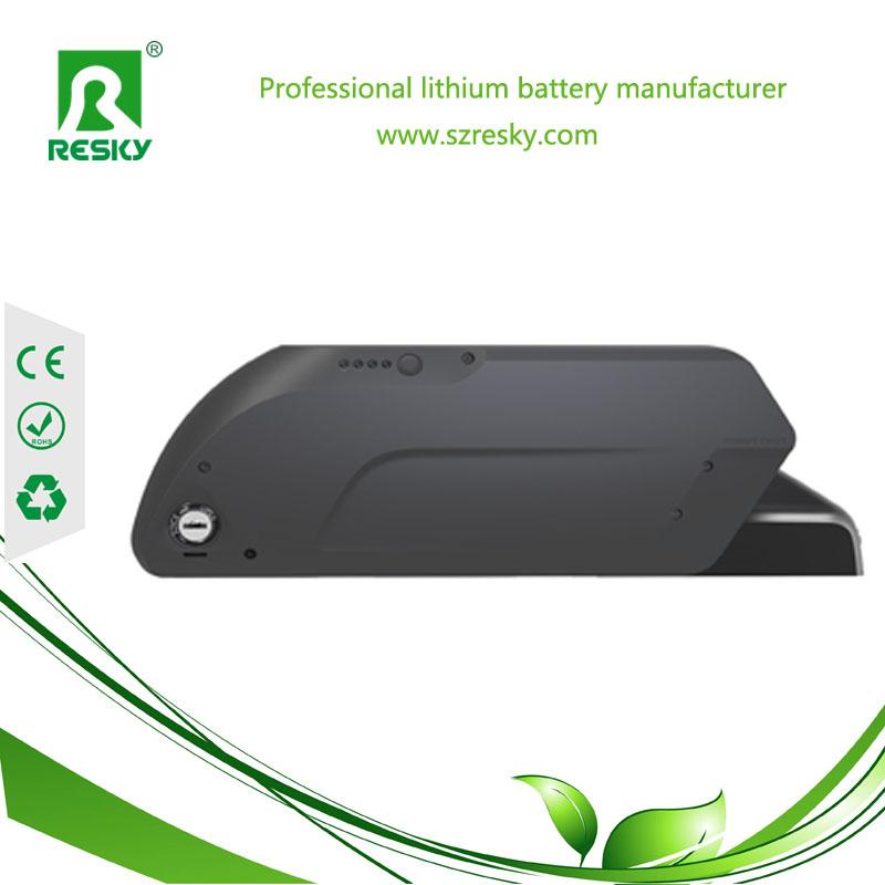 36v 12Ah lithium e-bike battery pack