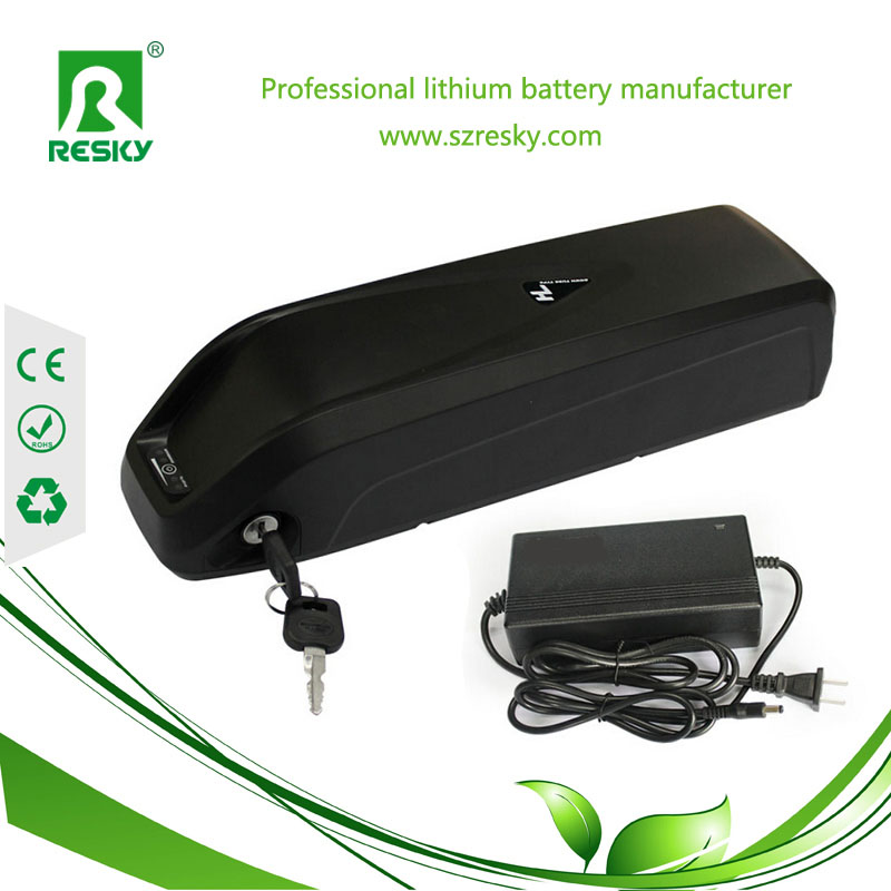 Panasonic down tube 48V 11.6Ah battery pack
