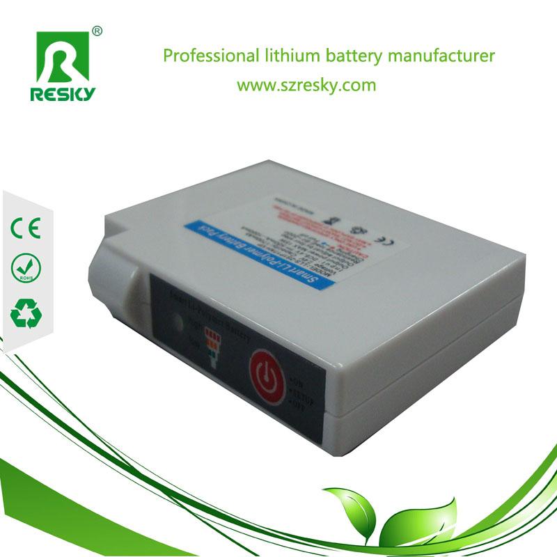 3.7V 3400mAh Li-po battery for gloves