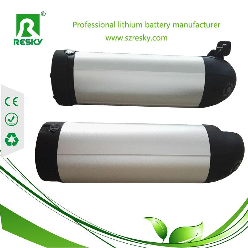 bottle type e-bike battery