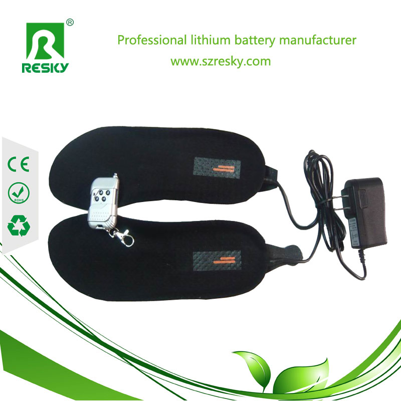 Heating insoles for cold winter