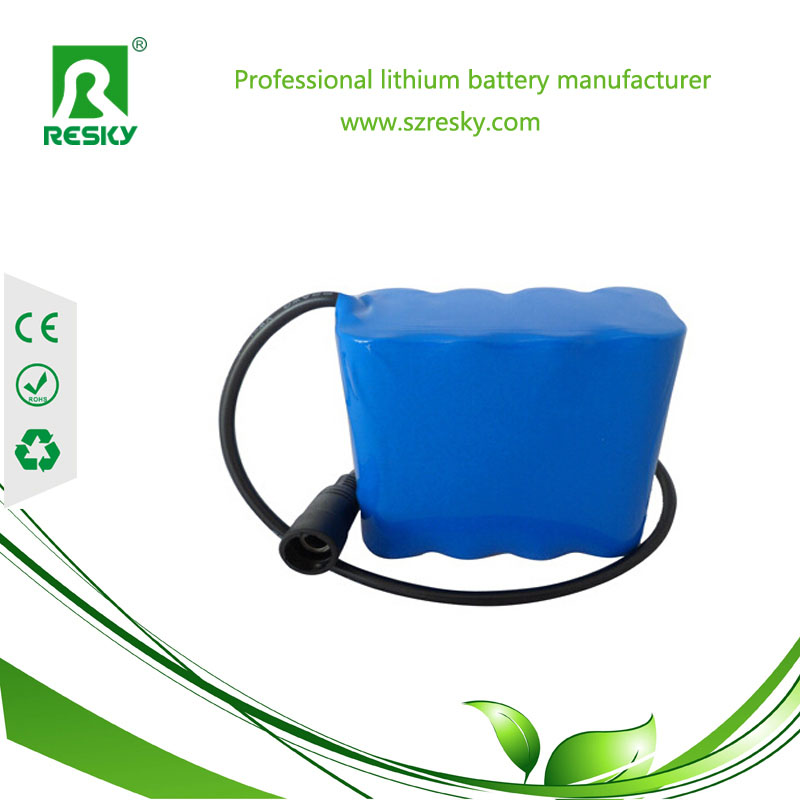 4s1p lithium 18650 battery pack