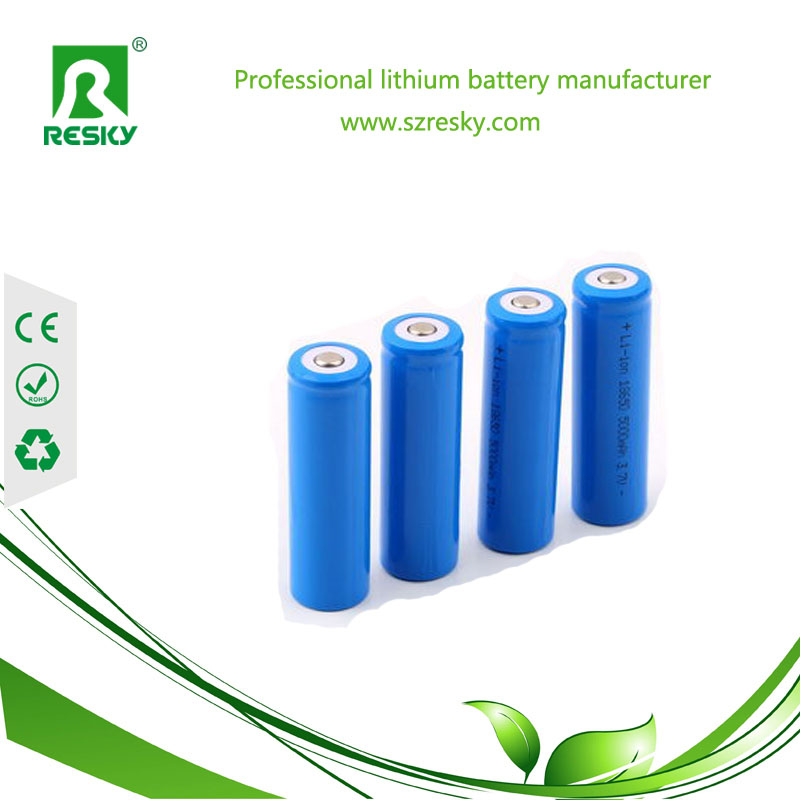 18650 rechargeable lithium battery