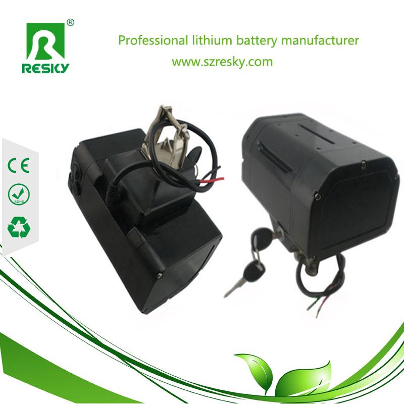 Lift tube lithium battery pack