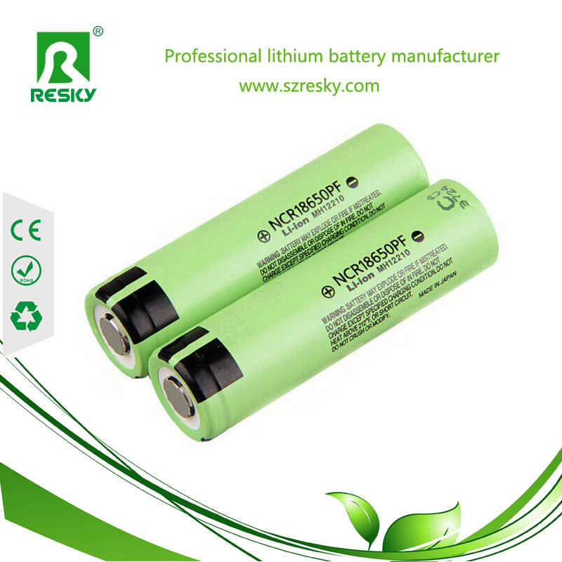 Panasonic NCR18650PF round battery cells