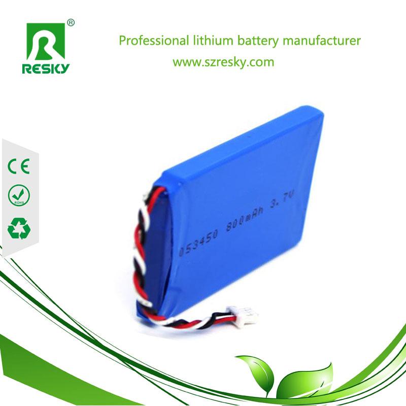 503450 800mAh li-po battery cell
