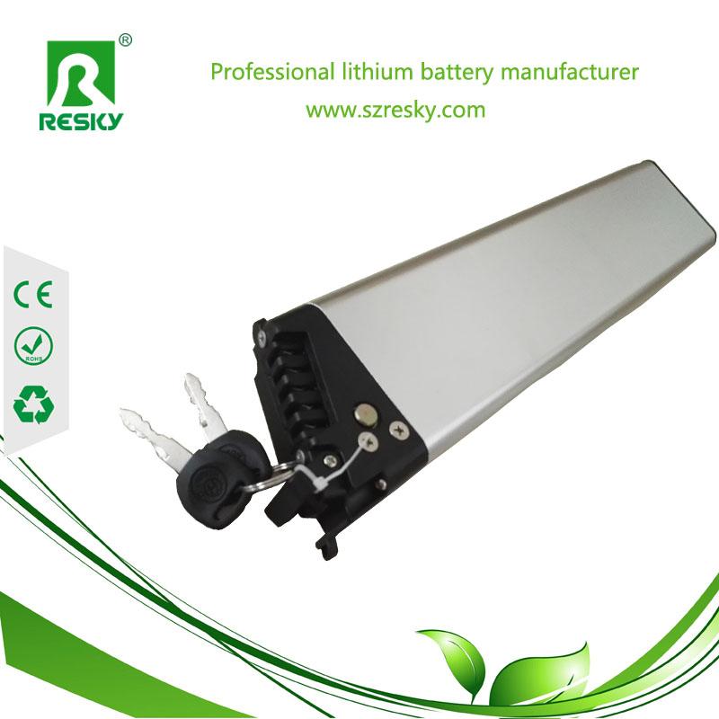 36v 8ah foldable lithium battery pack