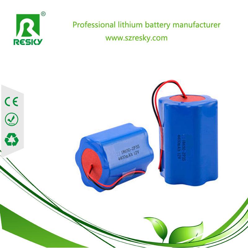 6S 22.2v li-ion battery pack