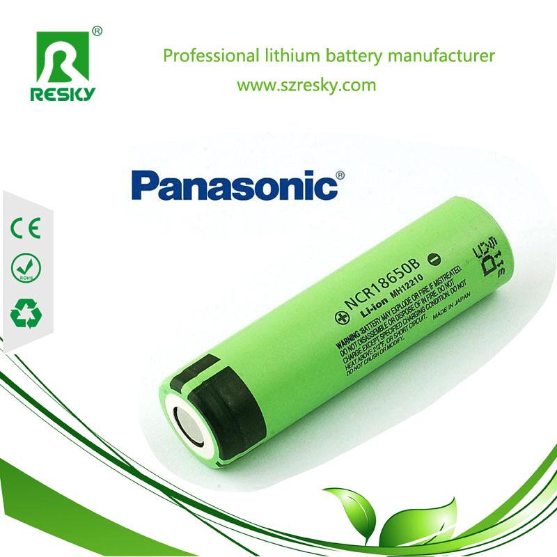 Panasonic NCR18650B lithium ion battery