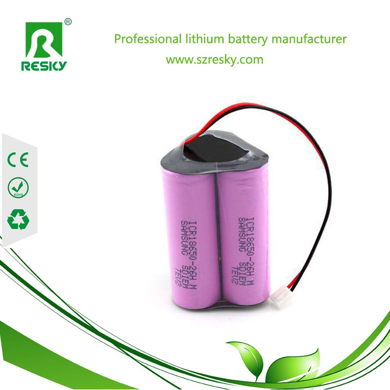 Samsung 3S1P lithium battery pack