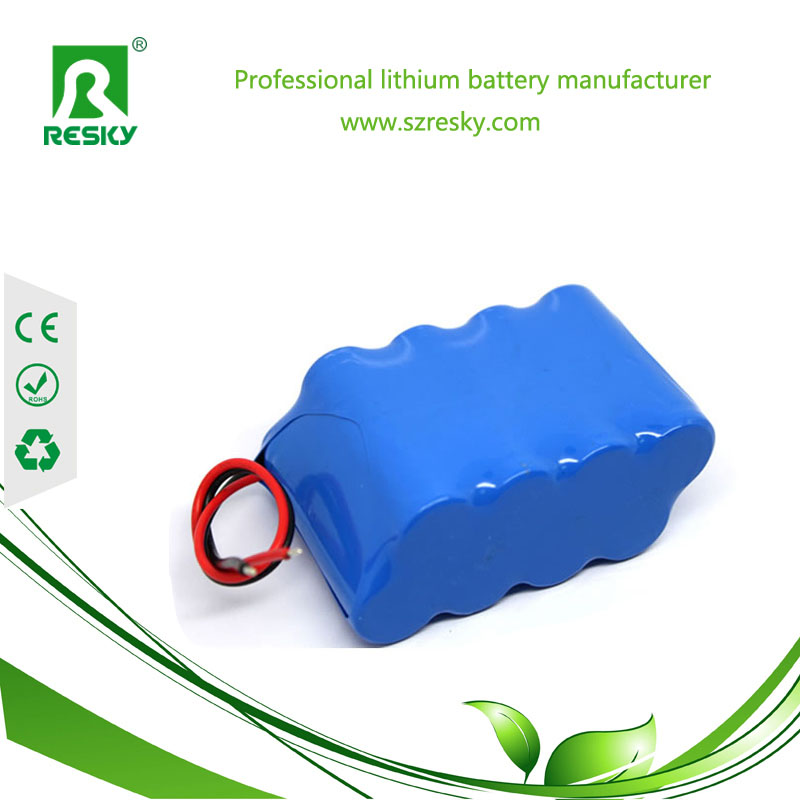 4S2P 18650 lithium-ion battery pack