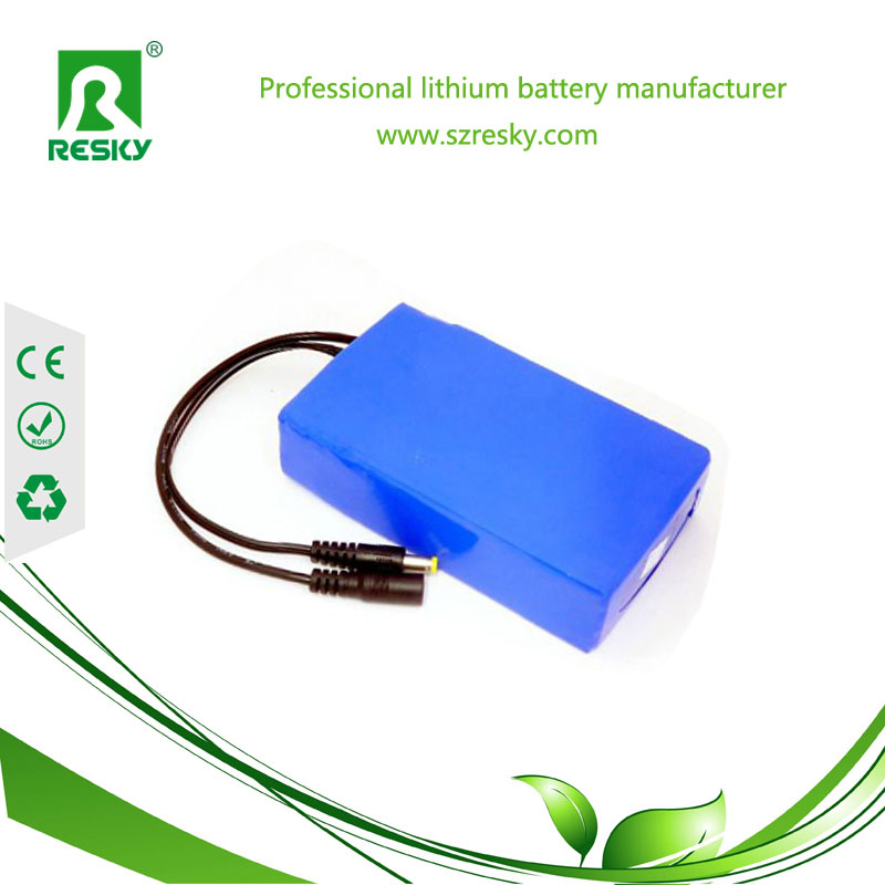 lithium polymer battery pack for heating products