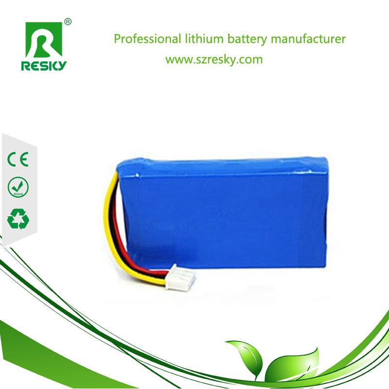 7.4v 5000mAh lithium battery pack