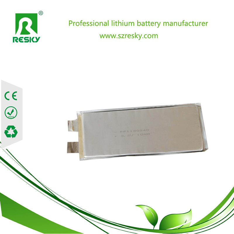 10Ah high capacity battery cells for electric vehicle