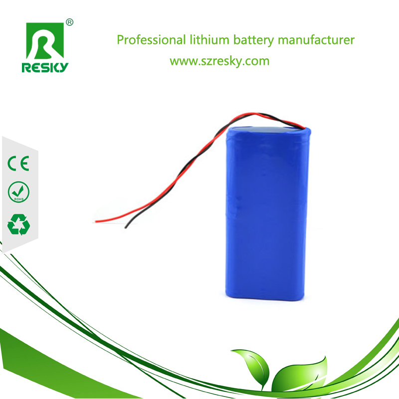 2p 1800mAh lithium battery pack for heating products